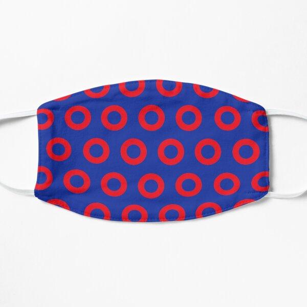 Jon Fishman - Phish Drummer Red Circle Print Flat Mask