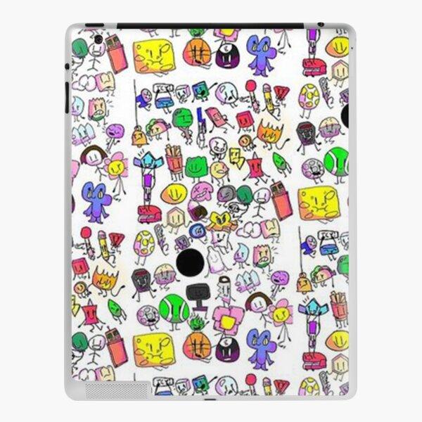Bfb characters iPad Skin