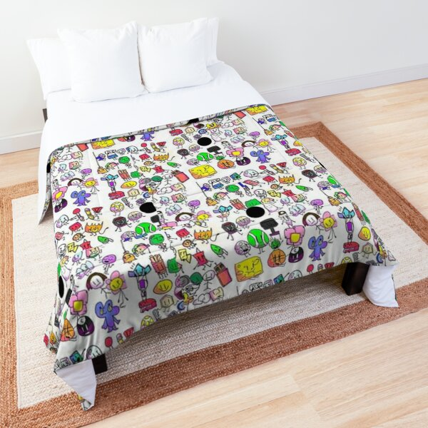 Bfb characters Comforter