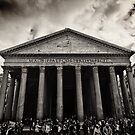 Dramatic view of the Pantheon by Andrea Rapisarda