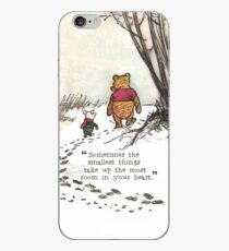 Sometimes the smallest things iPhone Case