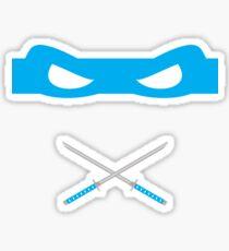 Blue Ninja Turtles Leonardo Sticker