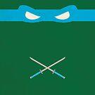 Blue Ninja Turtles Leonardo by thejoyker1986