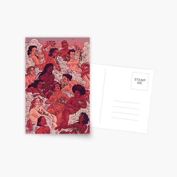 Beautiful Bodies Postcard