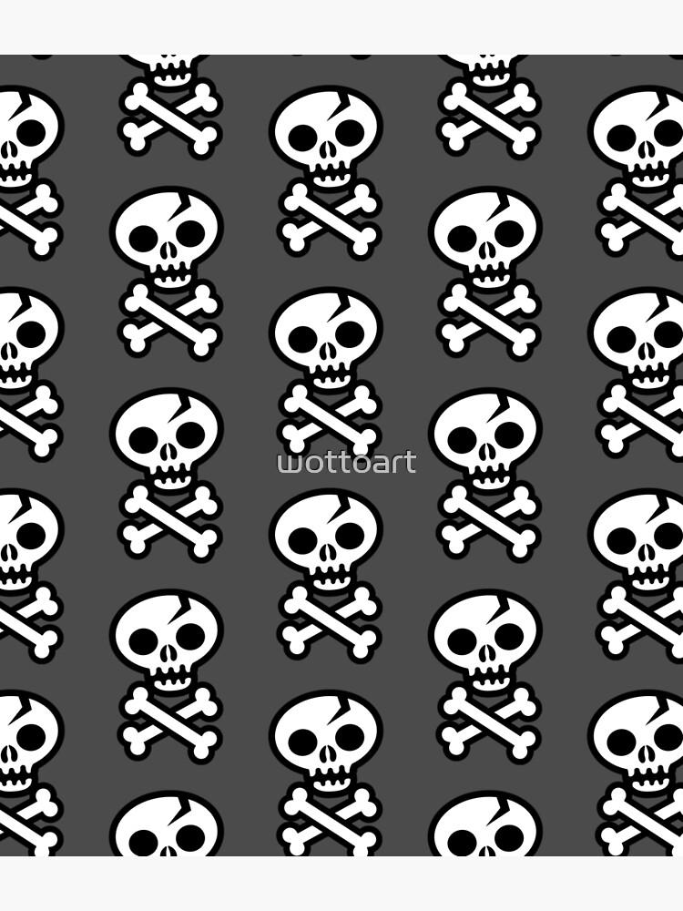Skull & Crossbones by wottoart
