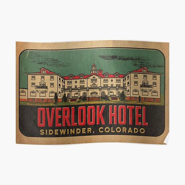 Overlook Hotel Travel Decal Poster