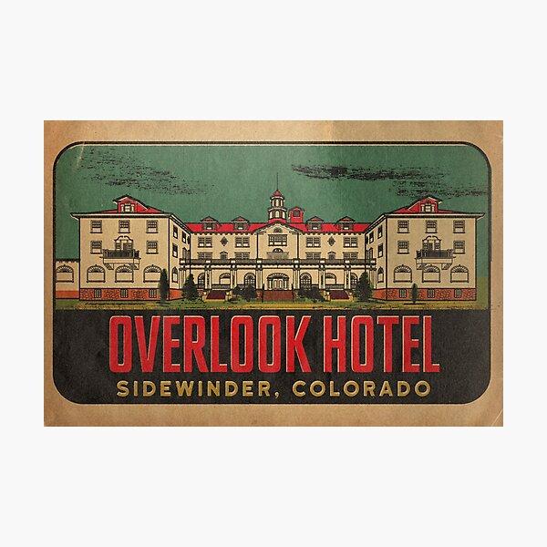 Overlook Hotel Travel Decal Photographic Print