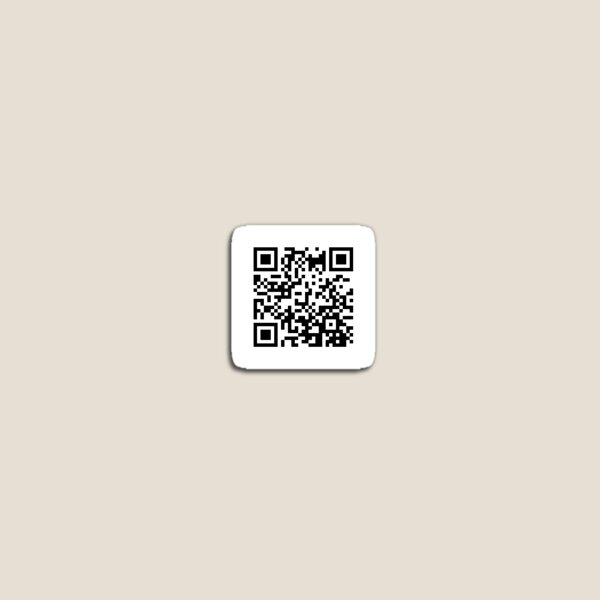 Debby Ryan Smirk QR Code Magnet