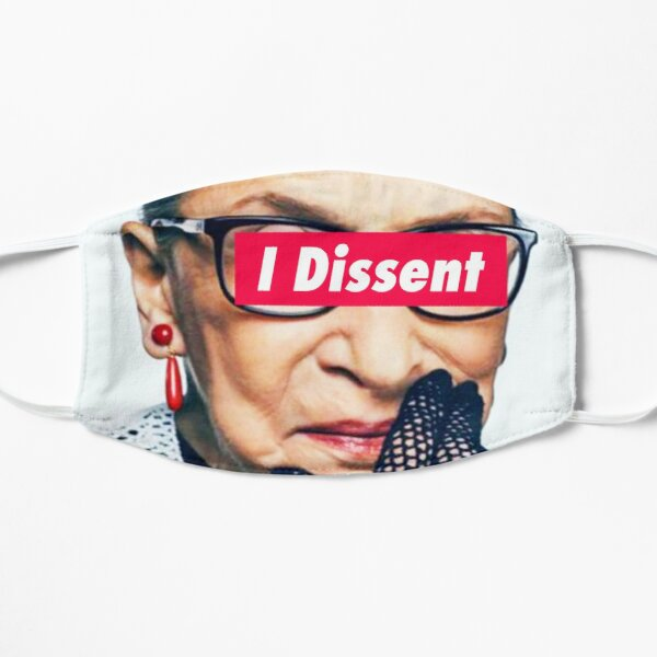 Notorious RBG - I Dissent Mask