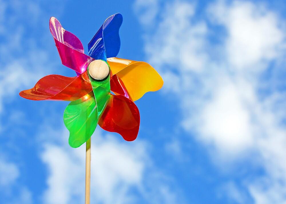 Summer Windmill by LittlePhotoHut