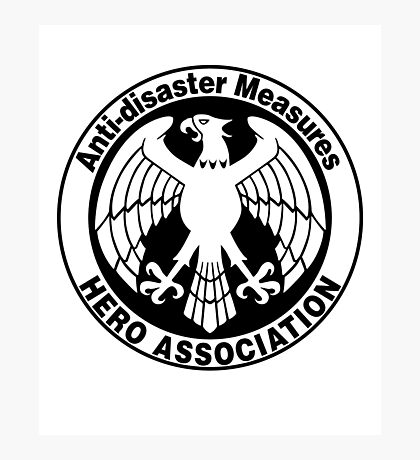 Hero Association Logo Photographic Print