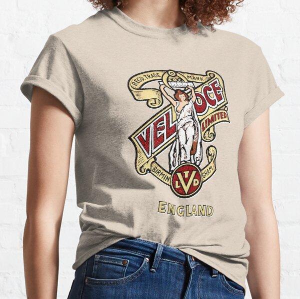 Klassisches britisches Motorrad-Emblem - Velocette-Mädchen Classic T-Shirt