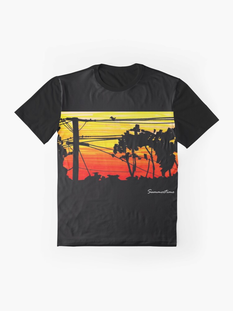 Alternate view of Summertime Graphic T-Shirt