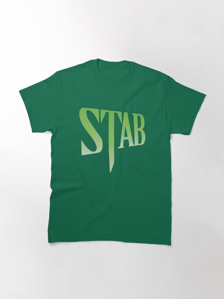 Scream Stab Movie Poster T Shirt