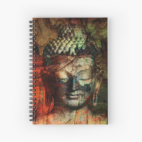 Sit in Silence Spiral Notebook