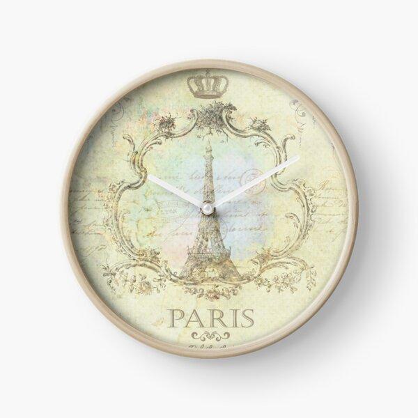 Paris Embrace Clock