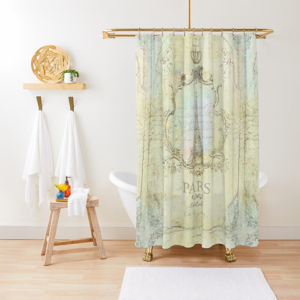 Paris Embrace Shower Curtain