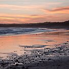 East Beach at Sunset, June 2013 by Alastair Creswell