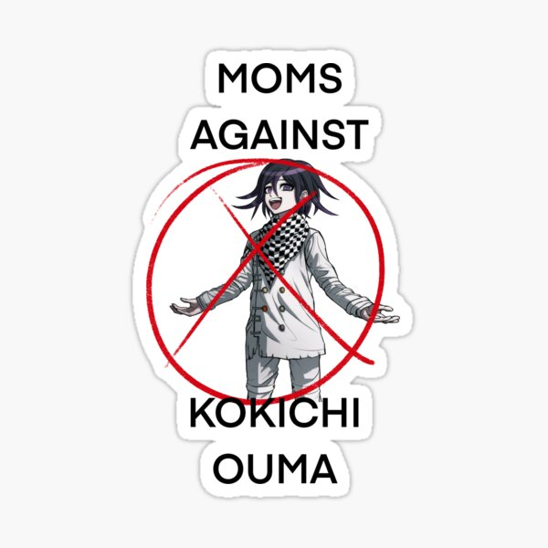 moms against kokichi ouma </3 Sticker