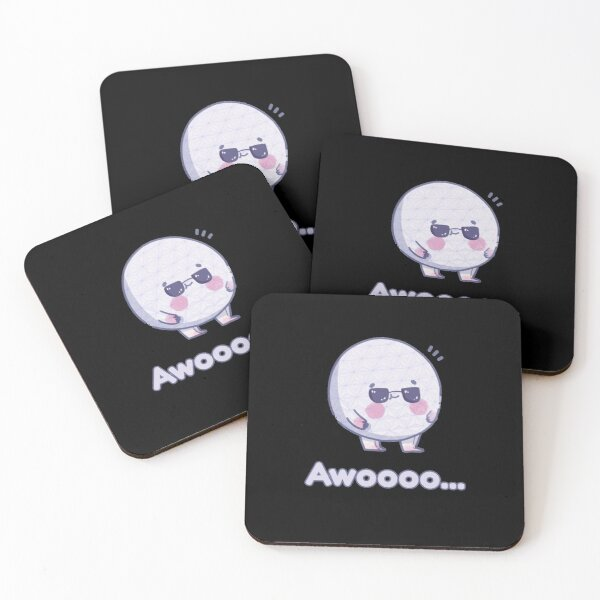 Awoooo Coasters (Set of 4)