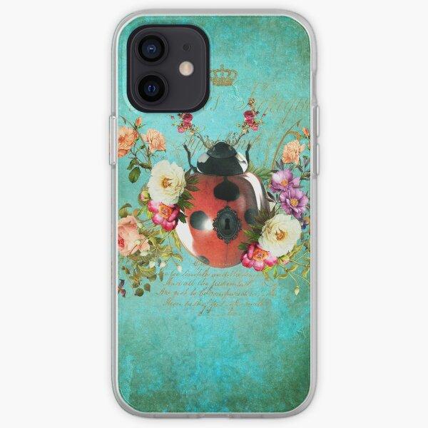 Lady Bug Luck Portrait iPhone Soft Case
