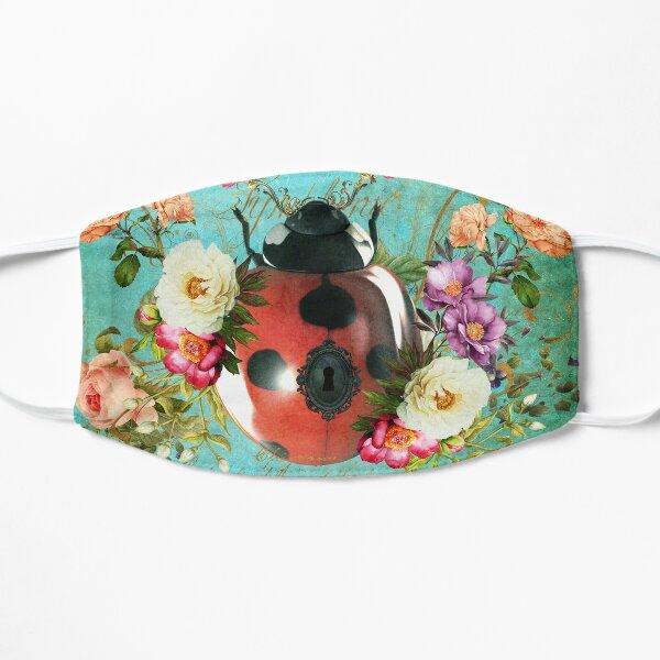Lady Bug Luck Portrait Flat Mask