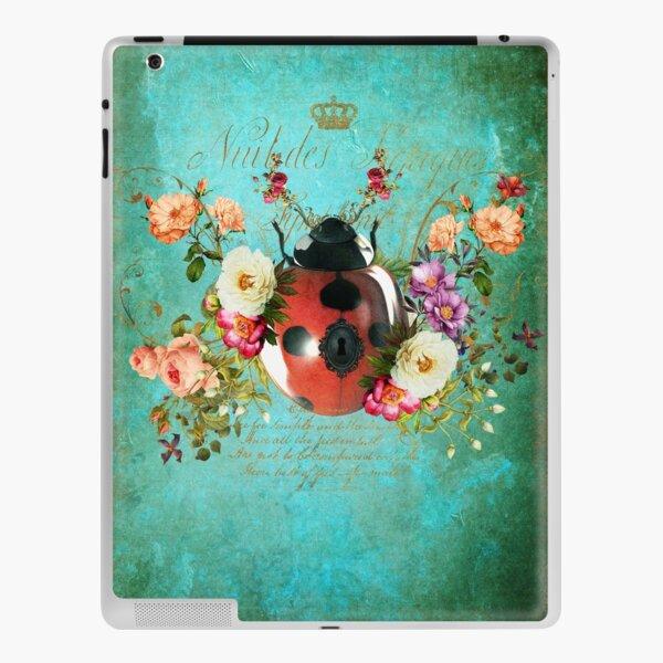 Lady Bug Luck Portrait iPad Skin