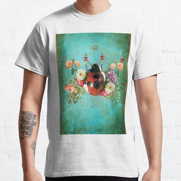 Lady Bug Luck Portrait Classic T-Shirt
