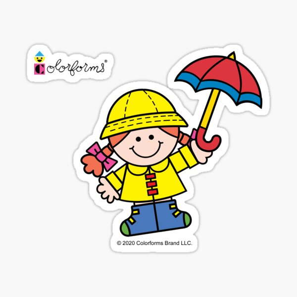 Colorforms Miss Weather Sticker