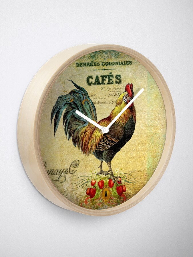 Alternate view of Cafe Rooster Full Clock