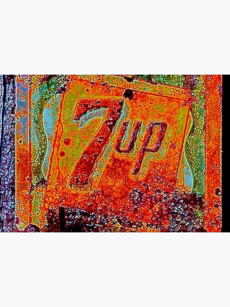 VINTAGE 7UP SIGN by michaeltodd