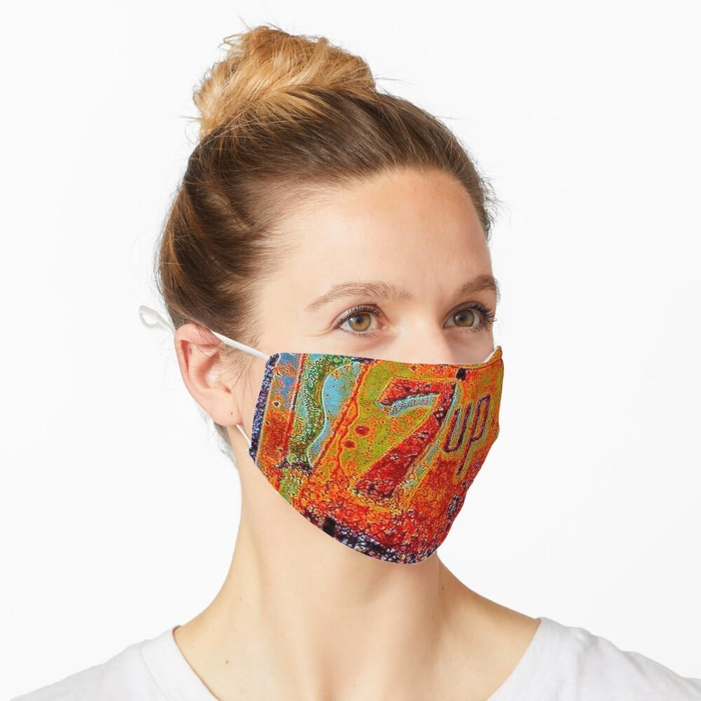 VINTAGE 7UP SIGN Mask