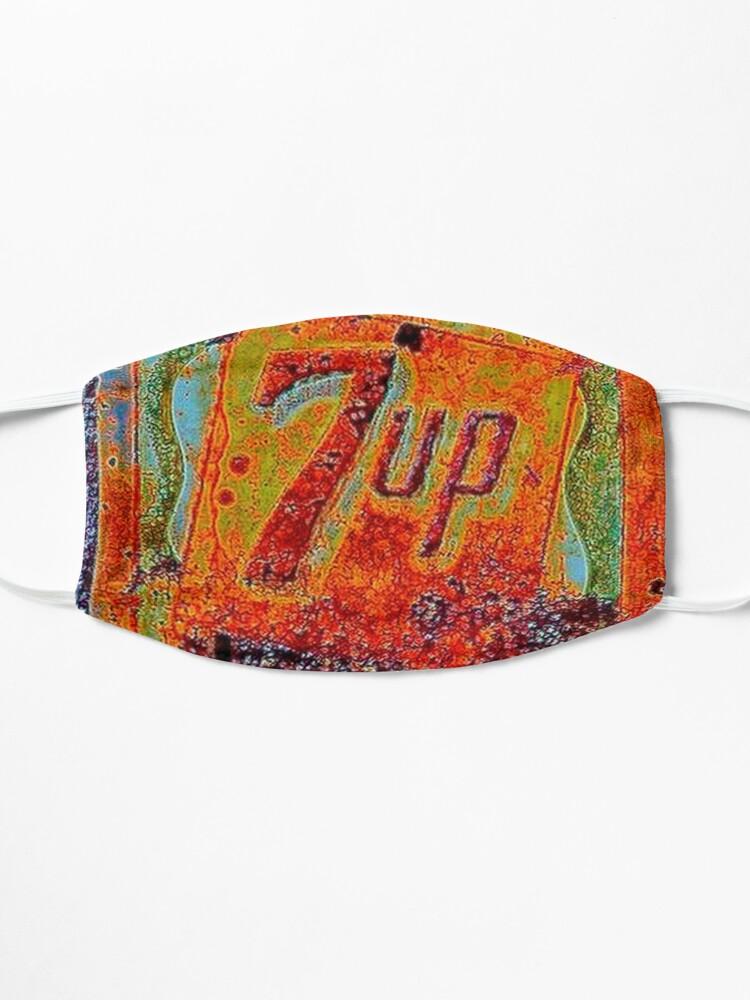 Alternate view of VINTAGE 7UP SIGN Mask