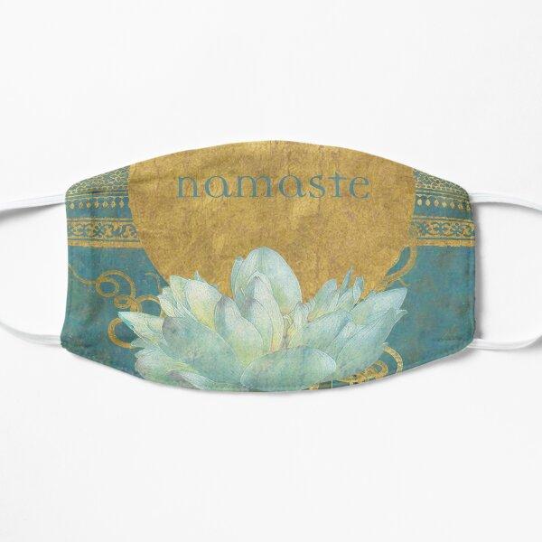 namaste blue Flat Mask