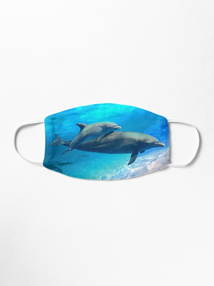 Alternate view of Dolphin Family Outing Mask