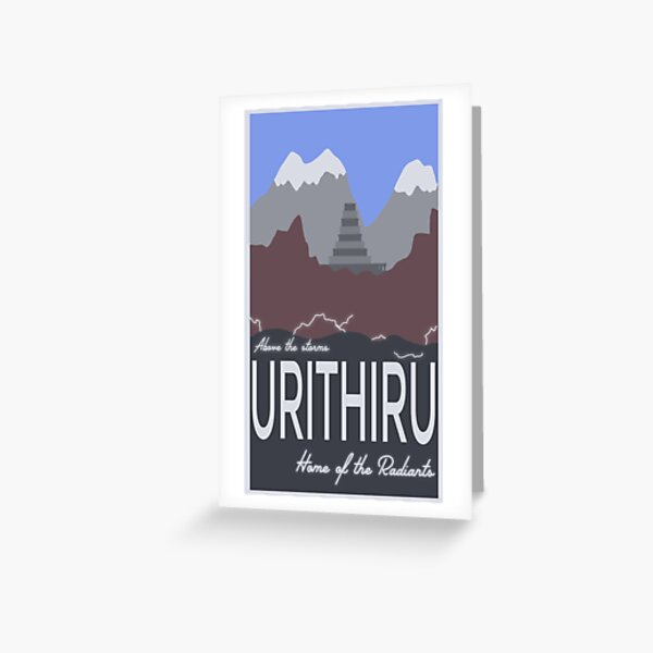 Urithiru! Greeting Card