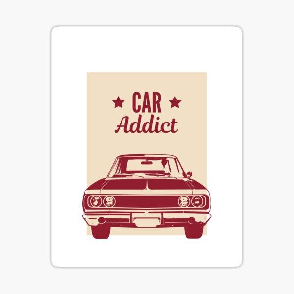 CAR ADDICT Sticker