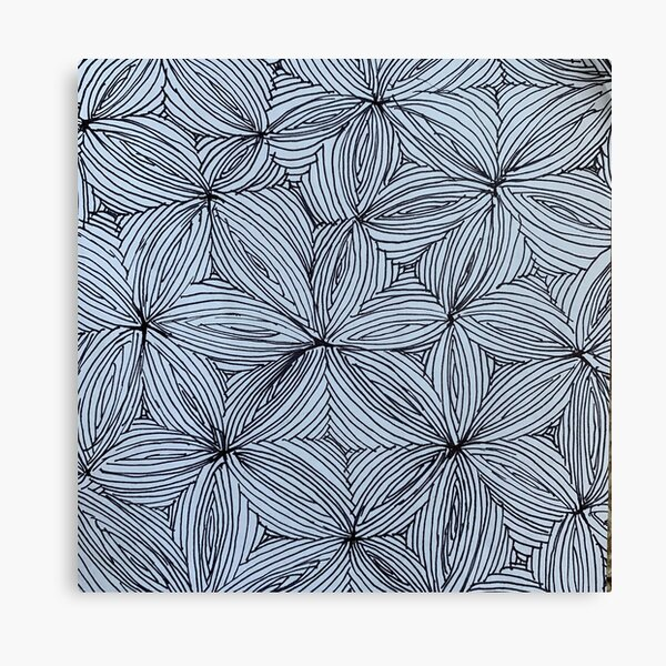 abstract optical illusion  Canvas Print