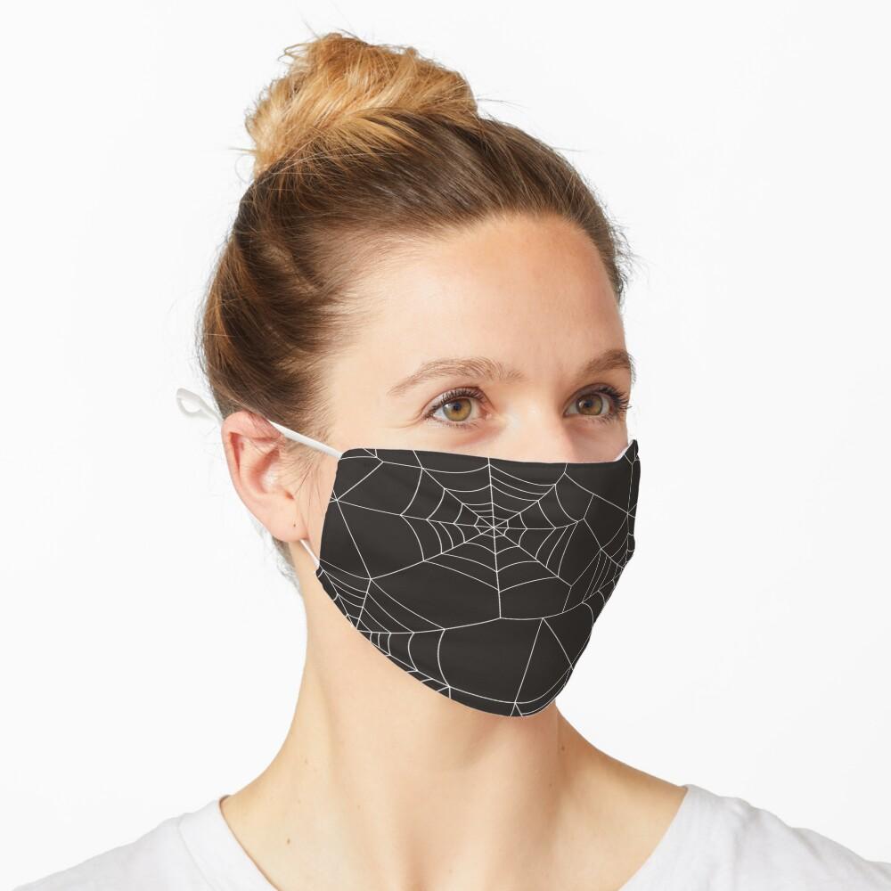 halloween spider web Mask