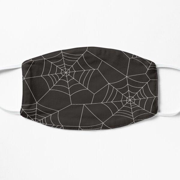 halloween spider web Flat Mask