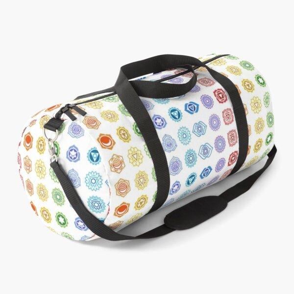 Rainbow Chakras Duffle Bag