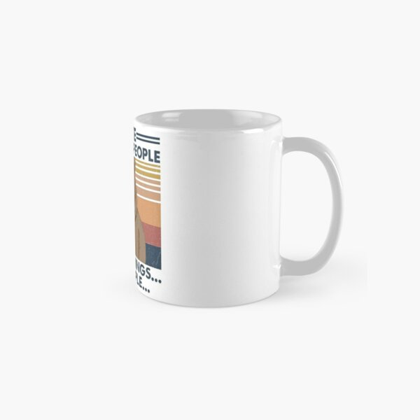 Camping I Hate Morning People And People And Mornings Bear Coffee Classic Mug