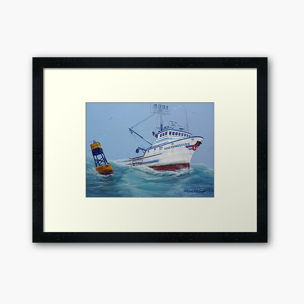 F/V Northwestern Framed Art Print