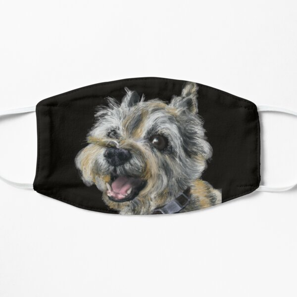 A Happy Smiling Cairn Terrier  Mask