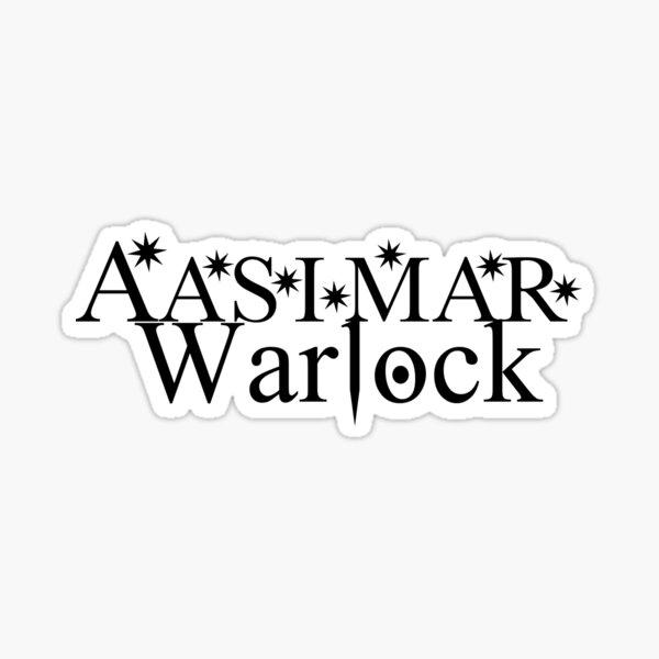 Aasimar Warlock Sticker