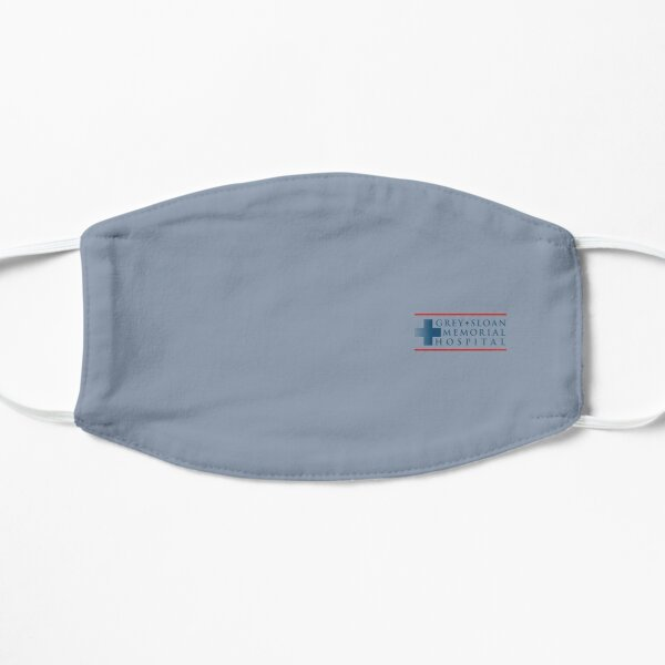 Grey Sloan Memorial Hospital Flat Mask