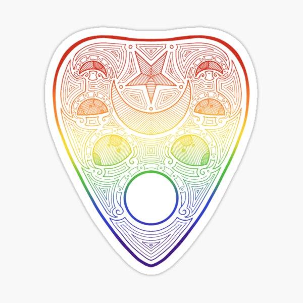 Rainbow planchette Sticker