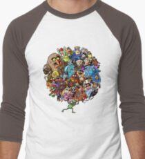 Muppets World of Friendship Men's Baseball ¾ T-Shirt