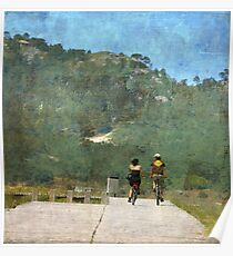 Las bicicletas son para el verano Poster