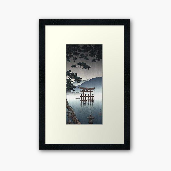 Tsuchiya Koitsu - Aki Miyajima Framed Art Print